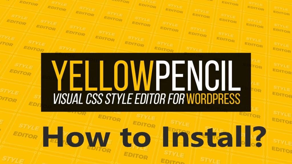 YellowPencil free