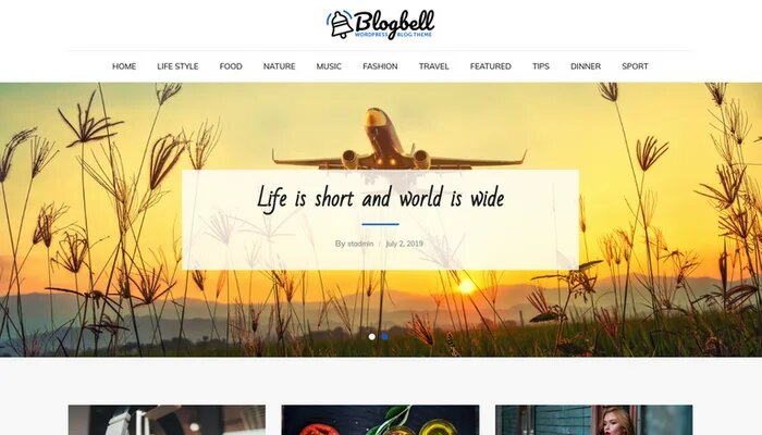 blogbell theme free download