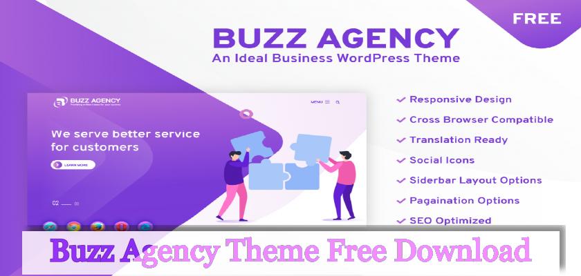 buzz agency theme free download