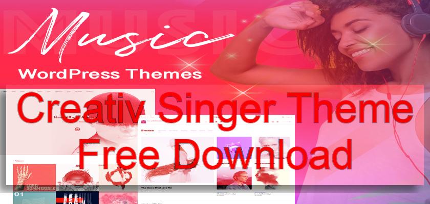 creativ singer theme free download