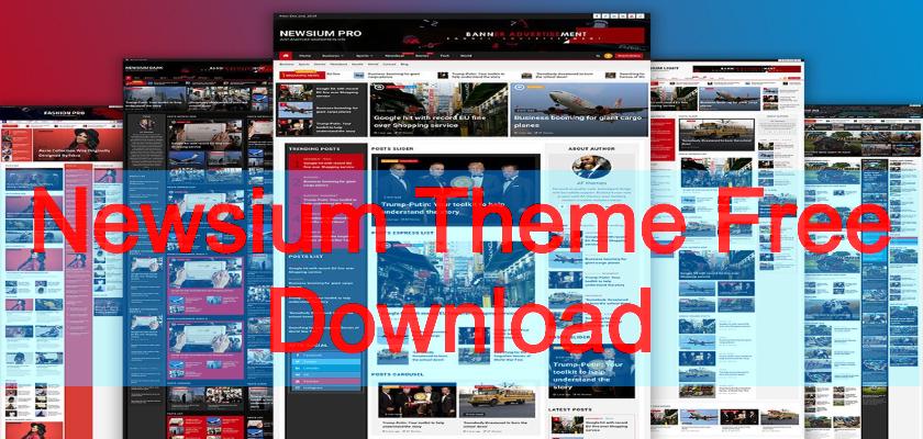 newsium theme free download