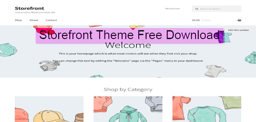 storefront theme free download