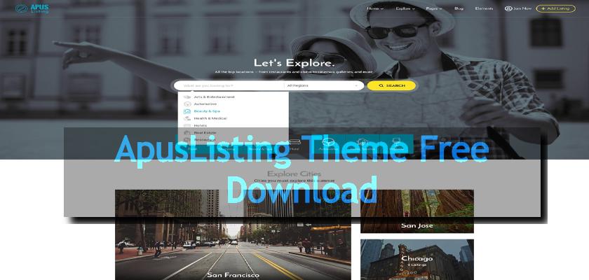 ApusListing Theme Free Download