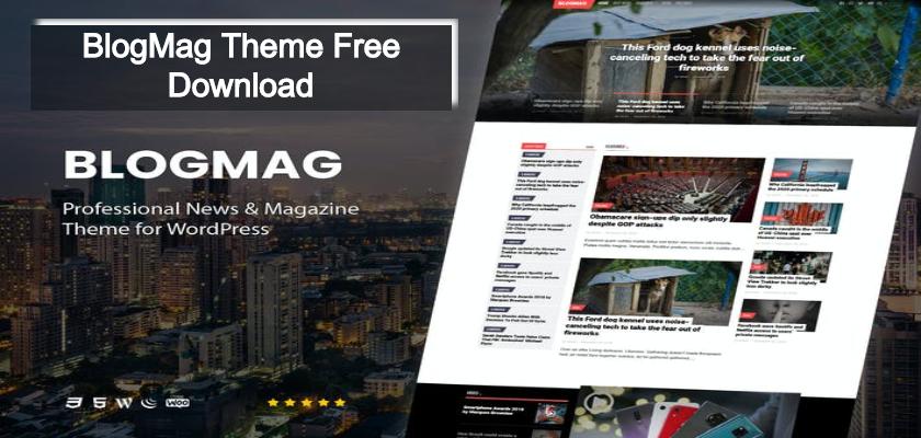 BlogMag Theme Free Download