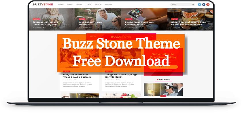 Buzz Stone Theme Free Download