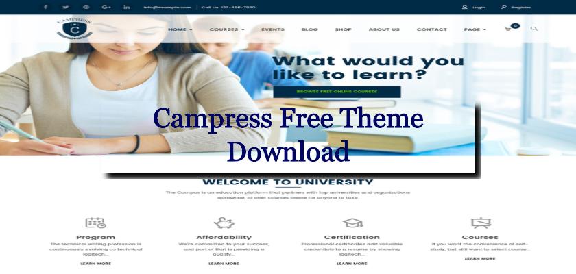 Campress Free Theme Download
