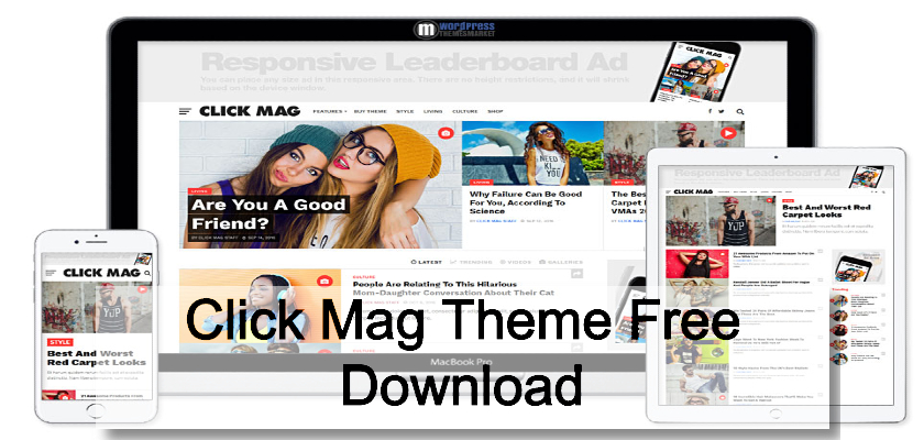 Click Mag Theme Free Download