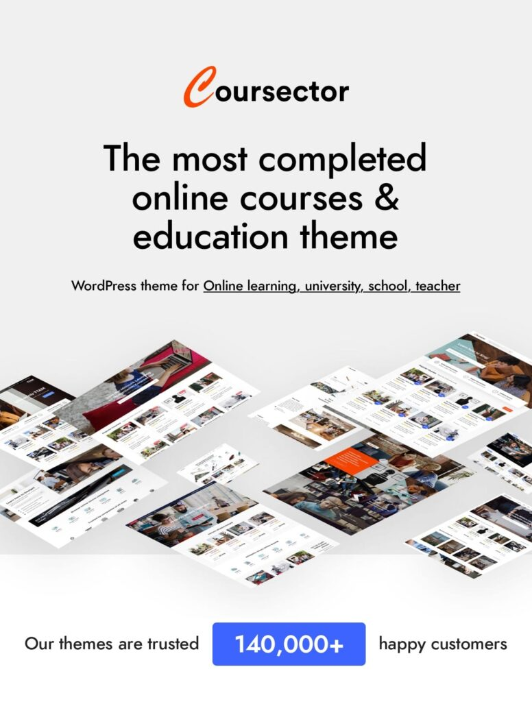 Coursector Theme Download Free