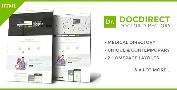 DocDirect Theme Free Download v8.0.7: WP Corporate Theme