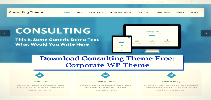 Download Consulting Theme Free