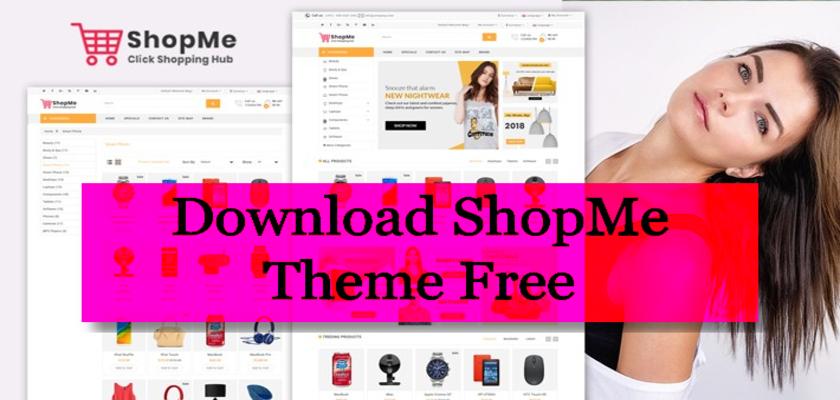 Download ShopMe Theme Free