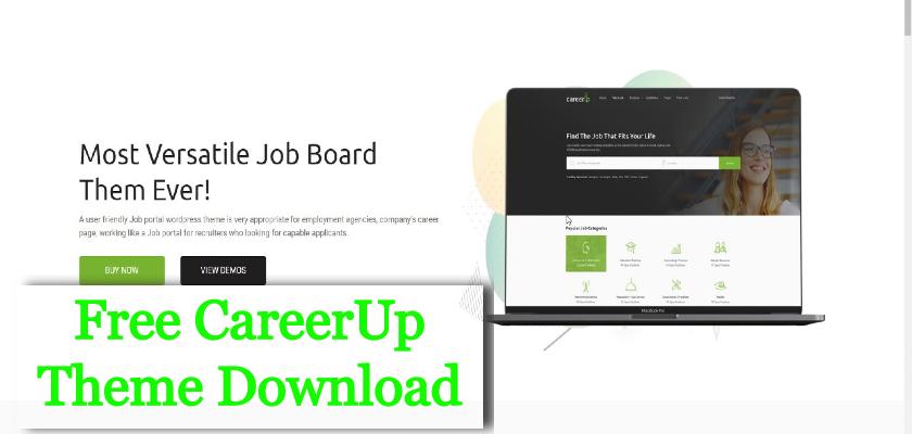 Free CareerUp Theme Download