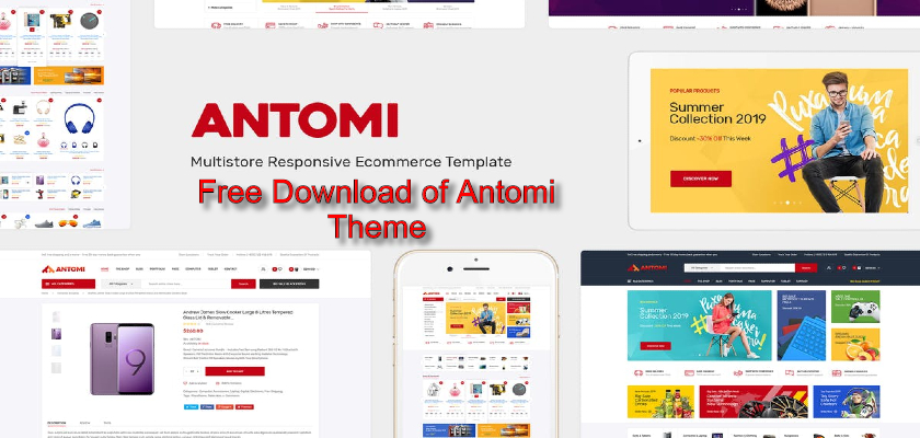 Free Download of Antomi Theme