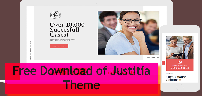 Free Download of Justitia Theme