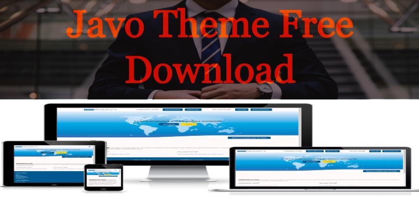 Javo Theme Free Download