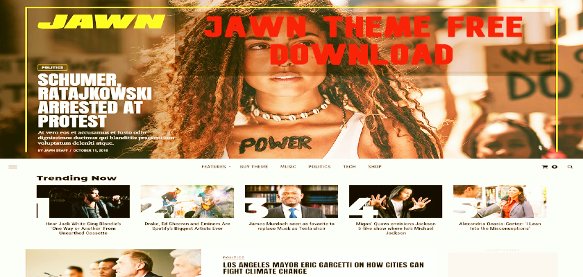 Jawn Theme Free Download