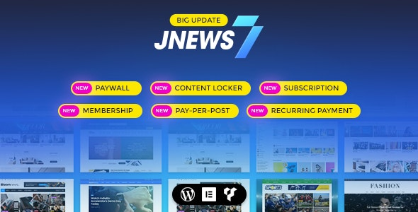 JNews Theme Free Download