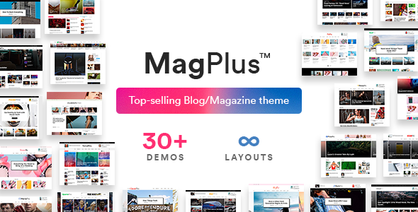 MagPlus Theme Free Download