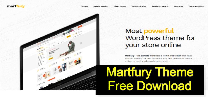 Martfury Theme Free Download