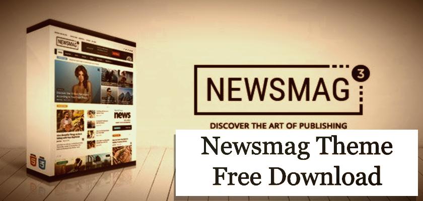 Newsmag Theme Free Download