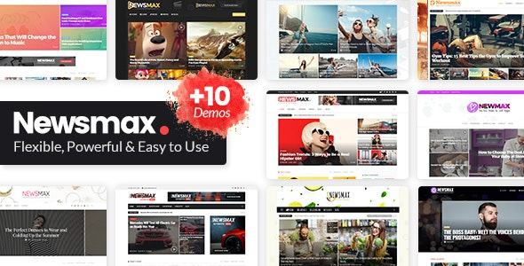 newsmax theme free download