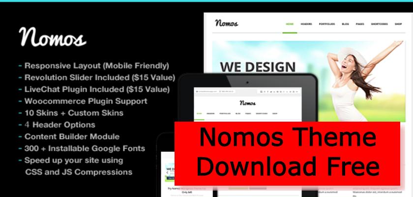 Nomos Theme Download Free