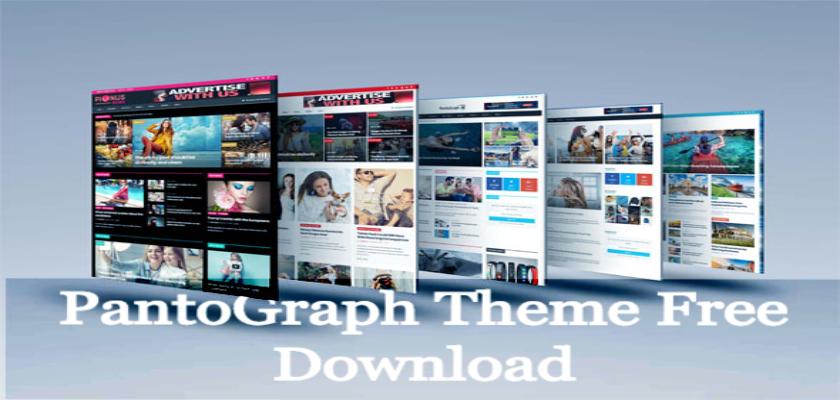 PantoGraph Theme Free Download