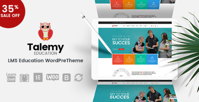Talemy Theme Free Download