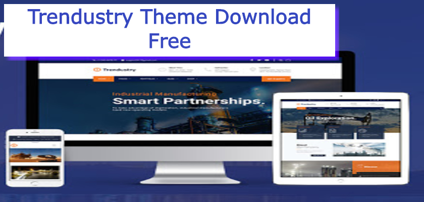 Trendustry Theme Download Free