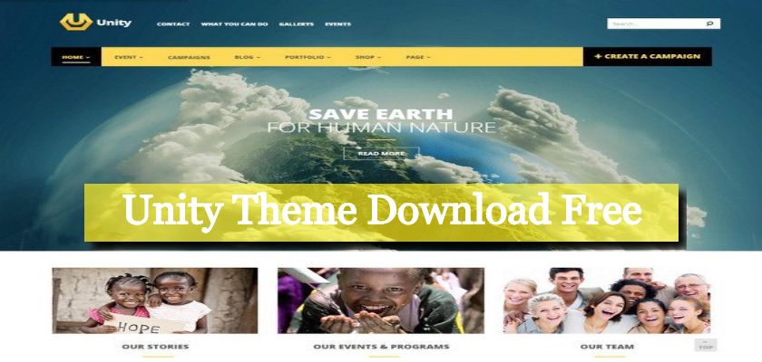 Unity Theme Download Free