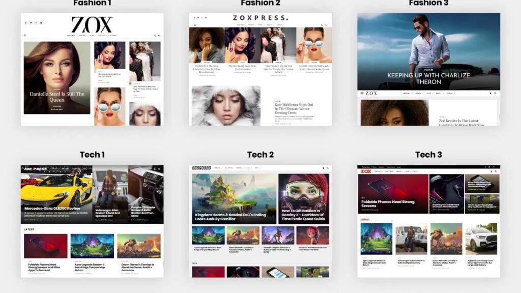 ZoxPress theme free download