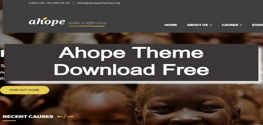 Ahope Theme Download Free