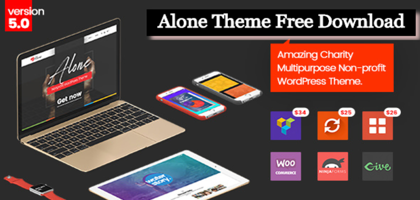 Alone Theme Free Download