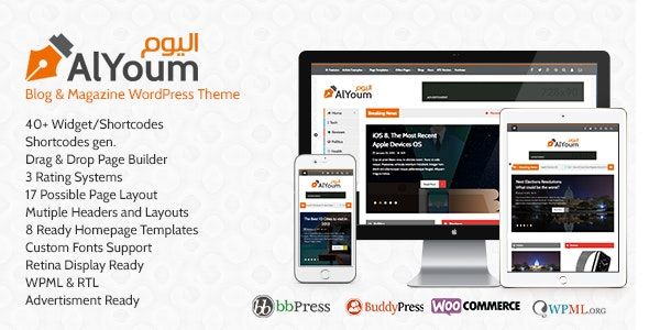 AlYoum Theme Free Download