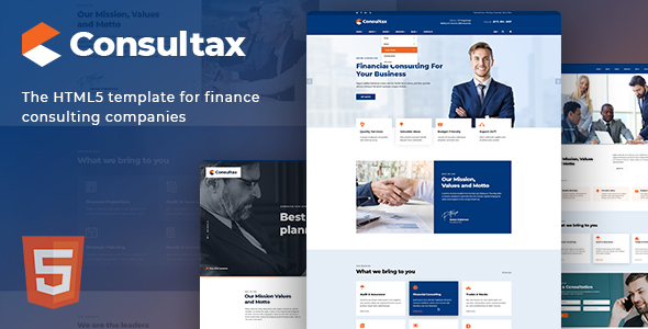 Consultax Theme Free Download
