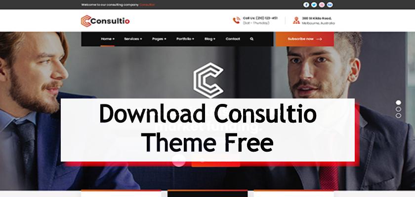Download Consultio Theme Free