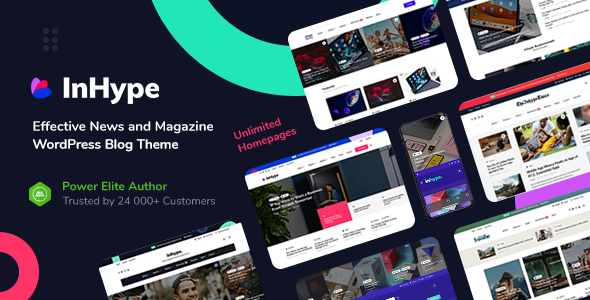 Download InHype Theme Free