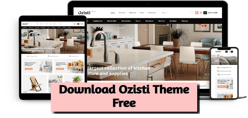 Download Ozisti Theme Free