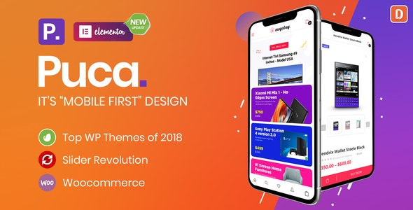Download Puca Theme Free