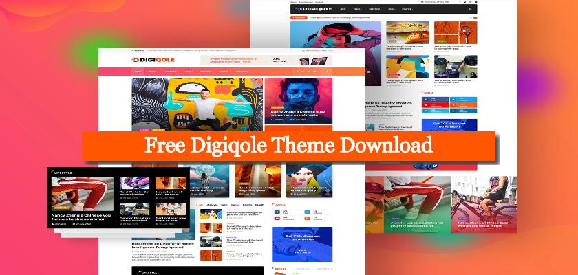 Free Digiqole Theme Download