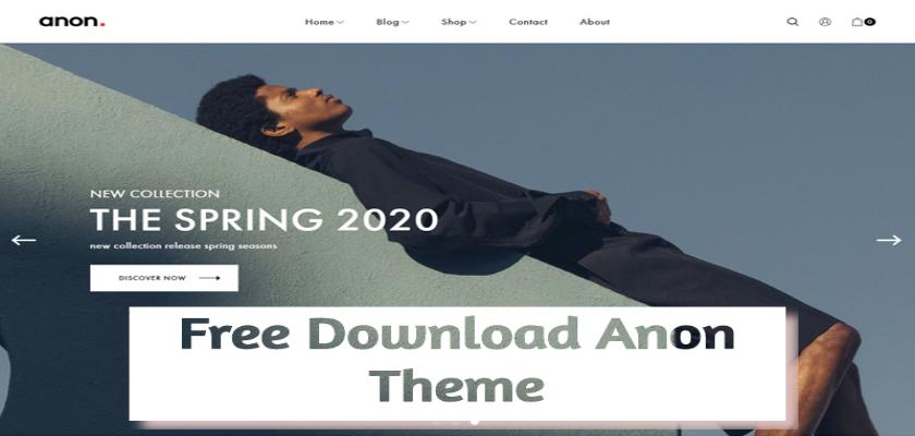 Free Download Anon Theme