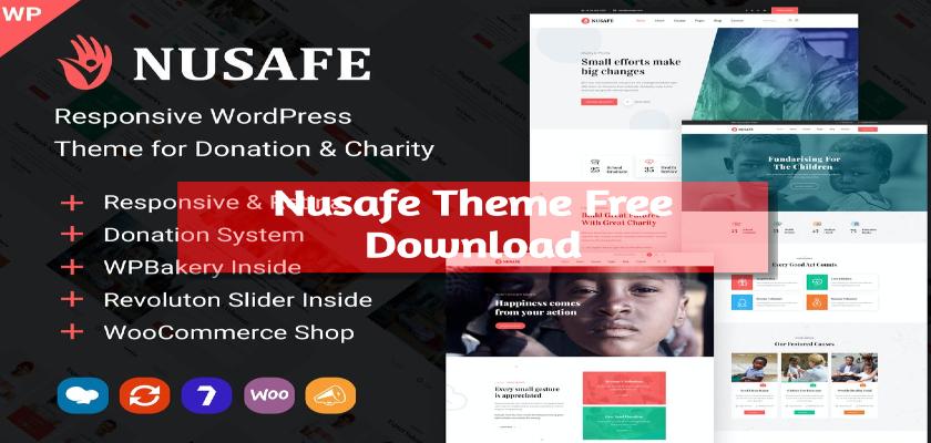 Nusafe Theme Free Download