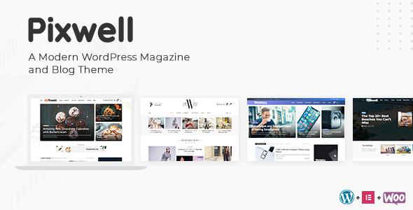 Pixwell Theme Free Download