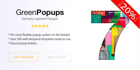 Download Green Popups Plugin