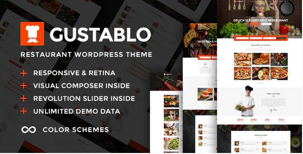 Gustablo Theme Free Download