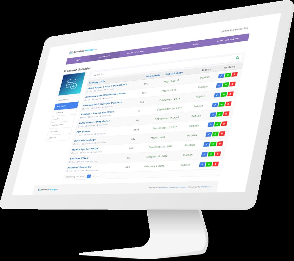 WordPress Download Manager Pro Download Free