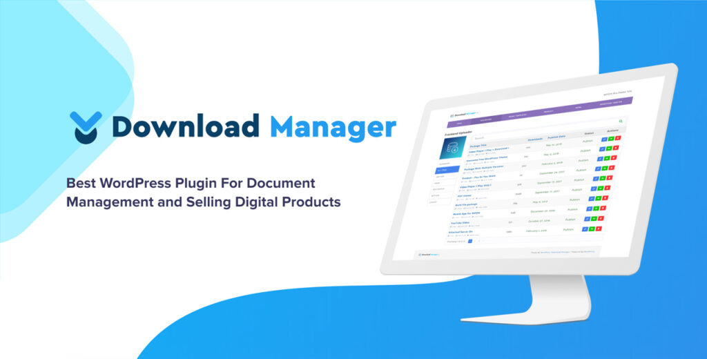 WordPress Download Manager Pro Download Free