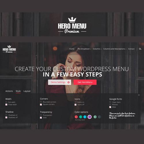 Download Free Hero Menu