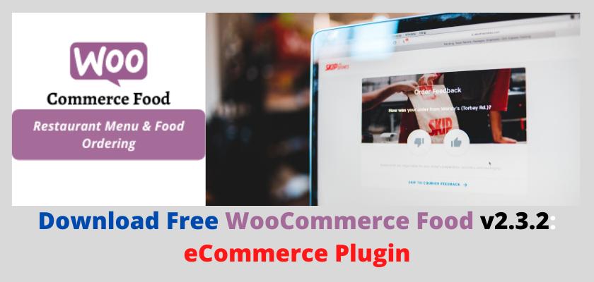 WooCommerce Food