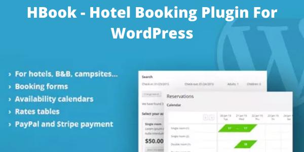 HBook - Hotel Booking Plugin